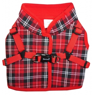 Beroni Jacket Harness english style rot