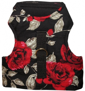 Katzengeschirr RED ROSES Kitty Walking Jacket