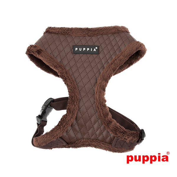 puppia geschirr super soft farren harness hundegeschirr braun. Black Bedroom Furniture Sets. Home Design Ideas