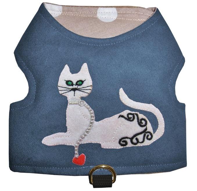 Geschirr für Katzen Katzengeschirr Walking Jacket