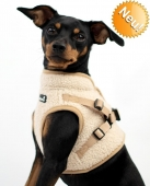 Beroni Jacket Harness Winterweste Curly beige