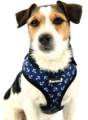 Hundegeschirr Maritim Nautic blue