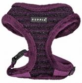 Puppia Argyle Mode Hundegeschirr purple