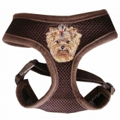 Yorkshire Terrier Hundegeschirr 3D Softgeschirr