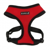 Puppia Softgeschirr, Puppia Soft Harness rot