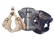 Puppia Kemp Harness C 3 Farben verstellbares Step In Geschirr