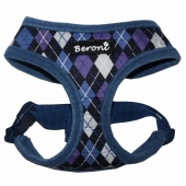 Beroni Soft Geschirr Checker blau