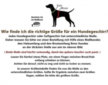 Weiches Hundegeschirr Cyber Space rot